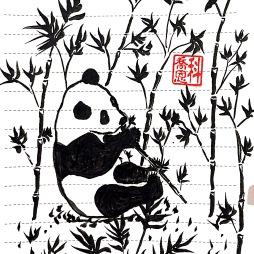 Tuan Tuan the panda of Taipei Zoo 團團 © 2018, KeQiaoEnAll Rights Reserved