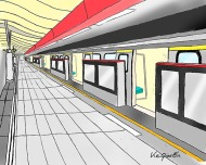 The Mass Rapid Transportation (MRT) in Taipei 台北捷運站 © 2018, KeQiaoEnAll Rights Reserved