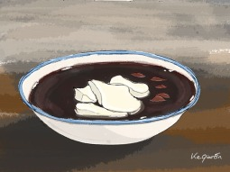 Tofu and Red bean dessert 紅豆豆花 © 2018, KeQiaoEnAll Rights Reserved